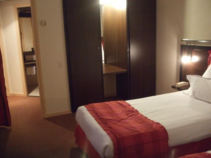 Petite photo de la chambre, désolée pour la qualité -_-
