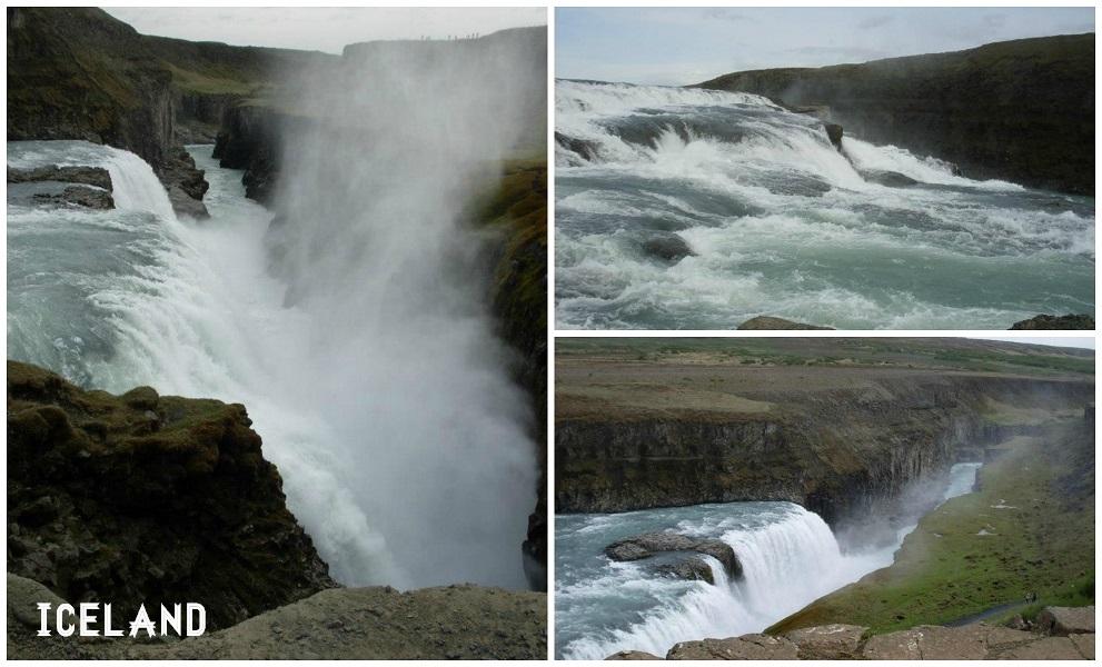 chute d'or de gullfoss islande
