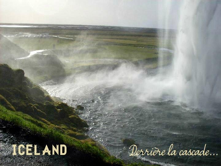 cote sud islande cascade