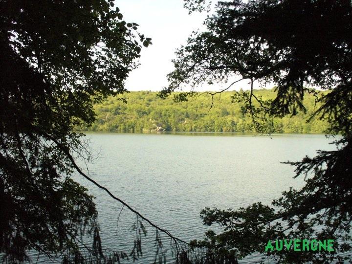 gour de tazenat lac en auvergne