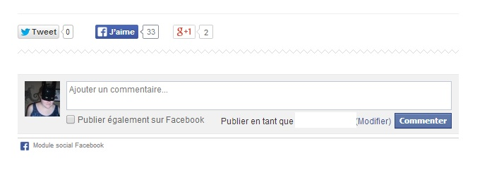 module social facebook