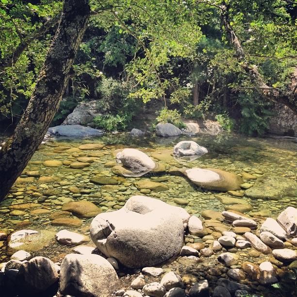 Baignade dans le Tavignanu, par Ange