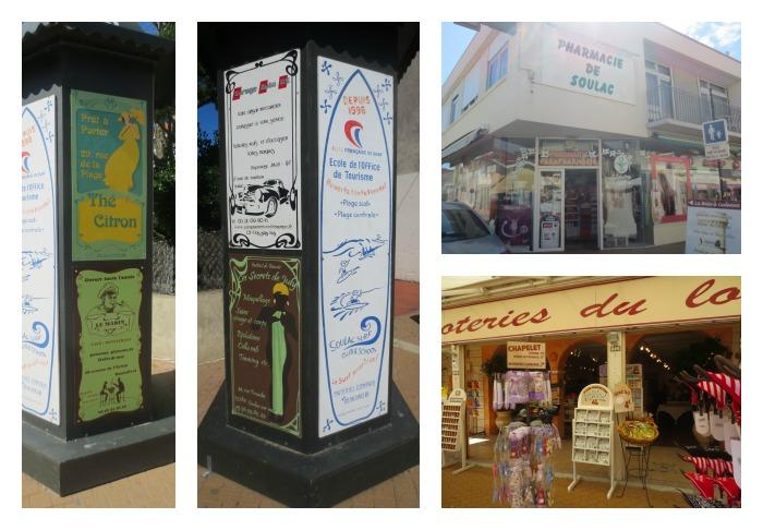boutiques à soulac sur mer centre ville
