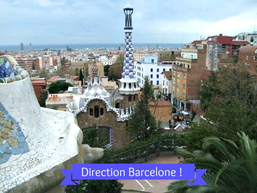 citytrip barcelone parc guell