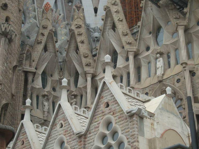 la sagrada familia barcelone espagne