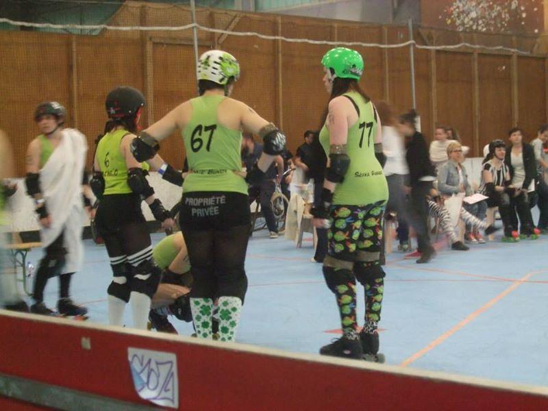 roller derby filles