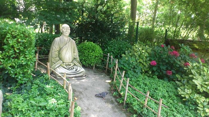 maitre taisen deshimaru jardin japonais toulouse