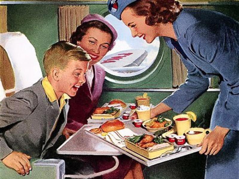 plateau repas avion