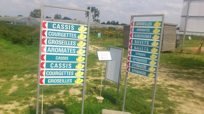 Les panneaux indicateurs