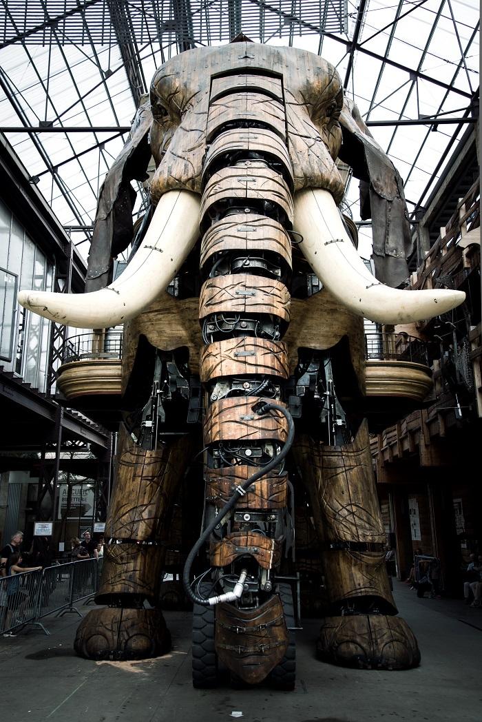 Le voyage à nantes le grand éléphant