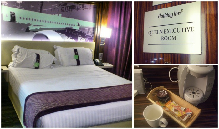 holiday inn airport queen executive room toulouse