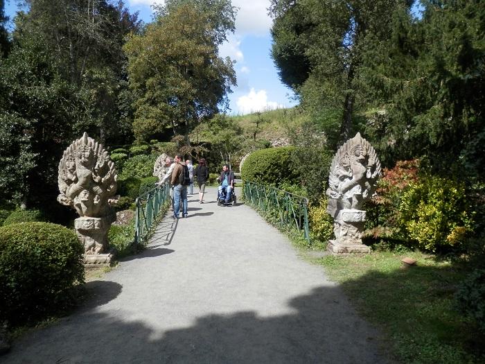 jardin japonais cholet un pied dans les nuages