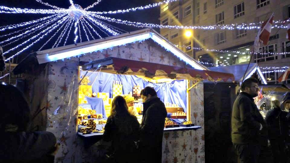 marché de noël lille chalets