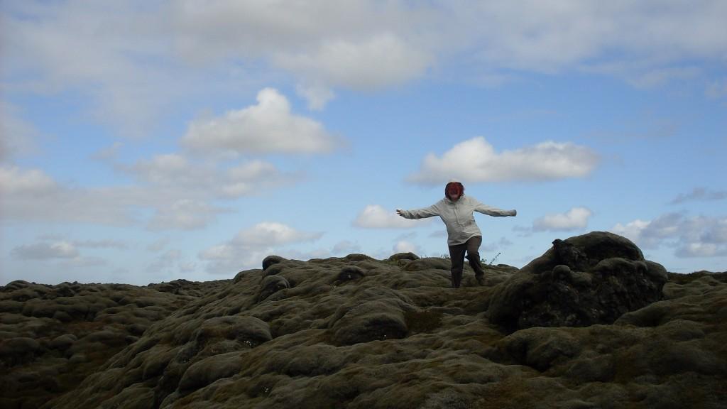 champs de lave en islande