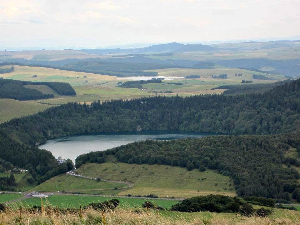 vue lac pavin
