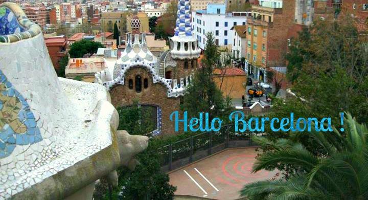 parc guell entrée barcelone