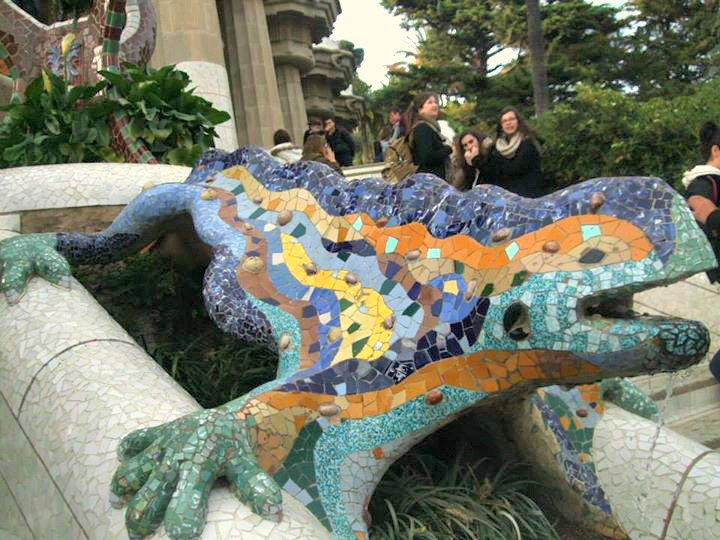 salamandre parc guell barcelone