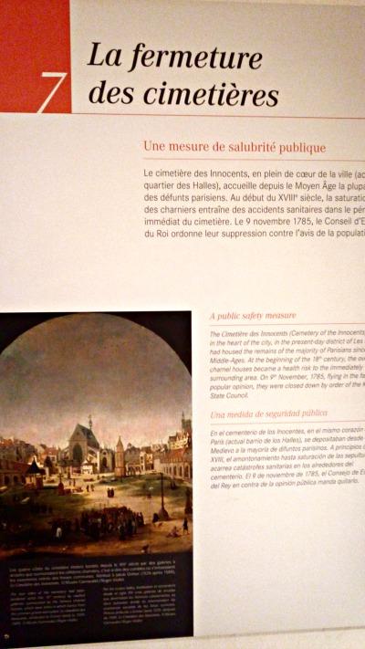 histoire catacombes paris