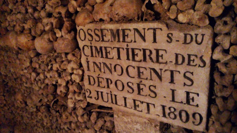 ossements cimetière des innocents paris