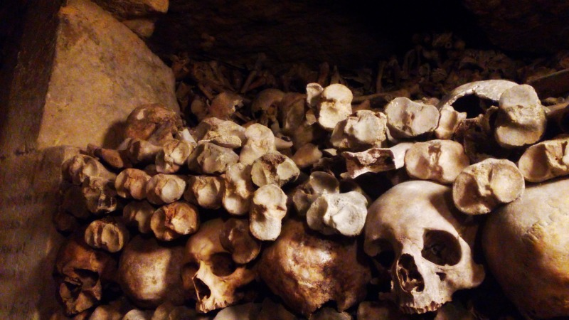 ossuaire catacombes paris