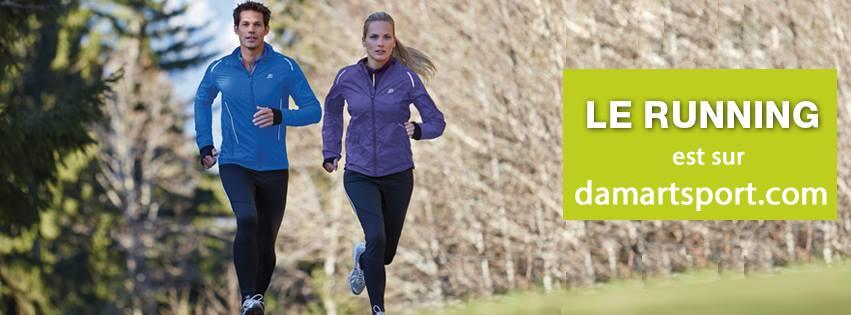 running damart sport