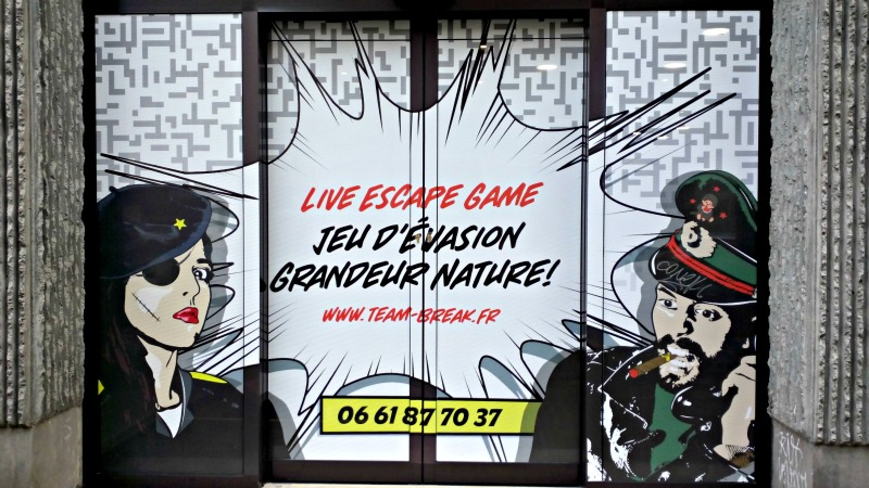 live escape game team break lille