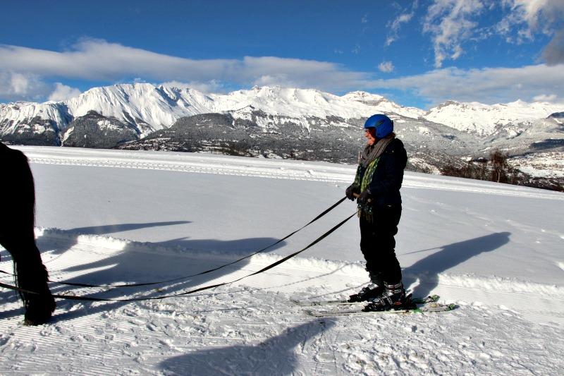test du ski joering val d'hérens