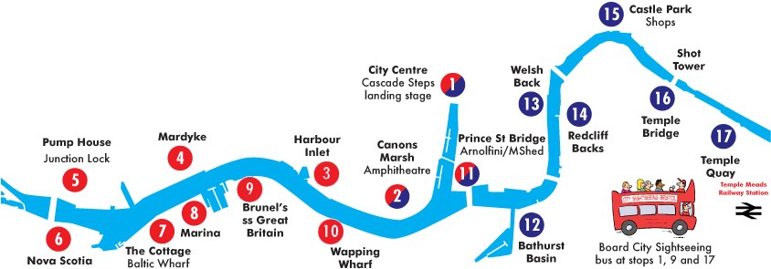 carte ferry bristol