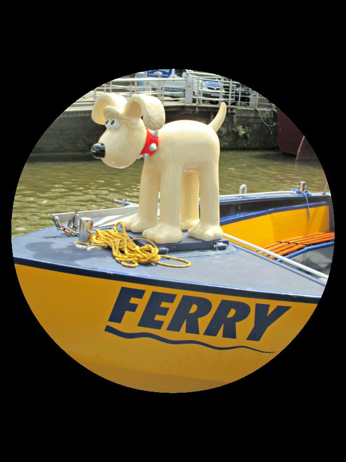 prendre le ferry à bristol