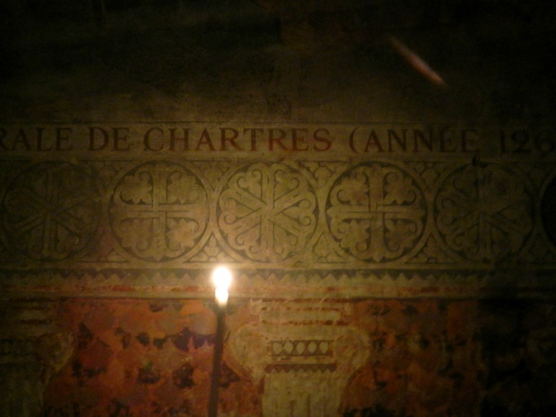 visite nocturne cathedrale chartres