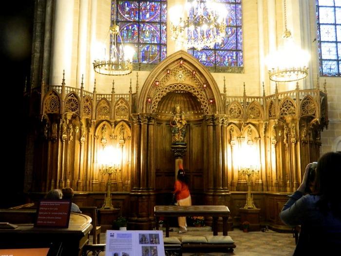 cathédrale à chartres