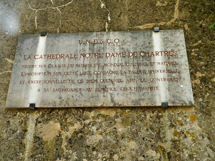 cathédrale chartres unesco