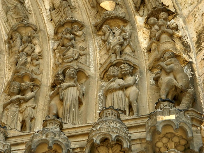 détail cathédrale chartres
