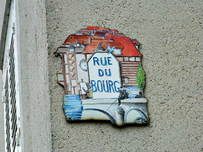rue du bourg chartres