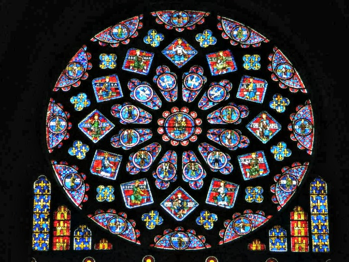 vitrail cathédrale chartres