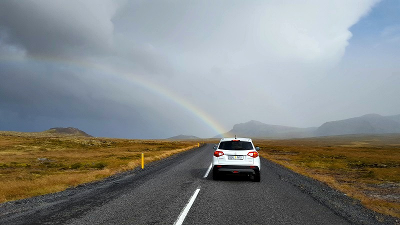 avis sur blue car rental islande