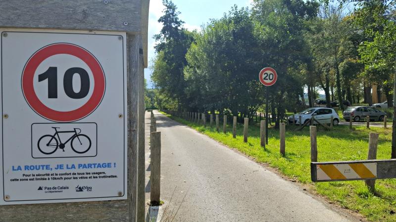 pas de calais à vélo
