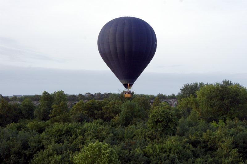 expérience premier vol en montgolfière