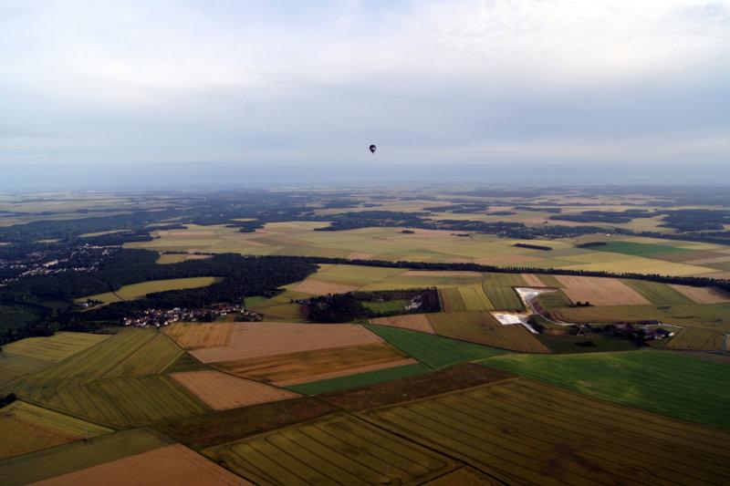 vol en montgolfière eure et loir