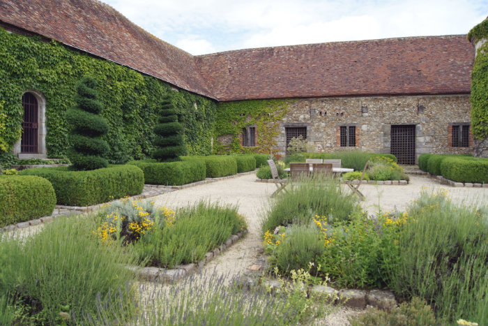 jardin médiéval bois richeux