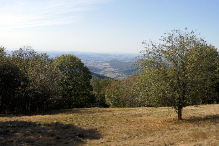 randonnée mont beuvray