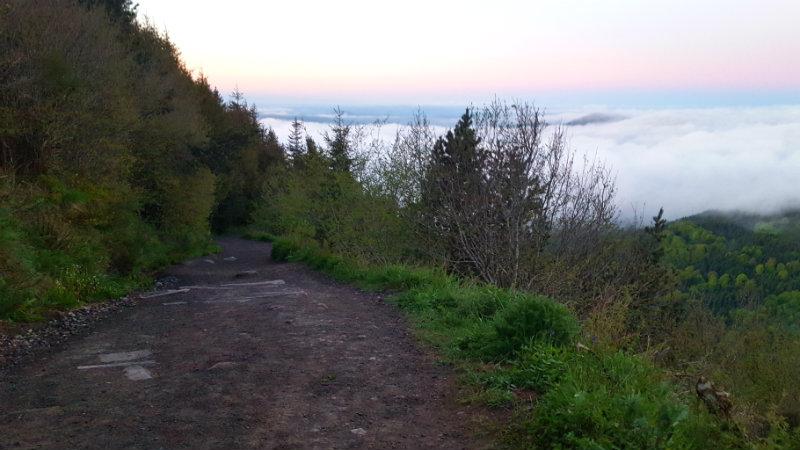randonnée lever de soleil puy de dome