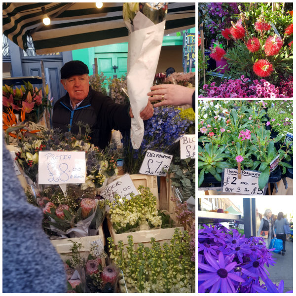marché aux fleurs columbia road