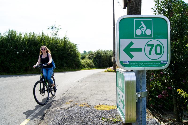 réseau points noeuds vélo
