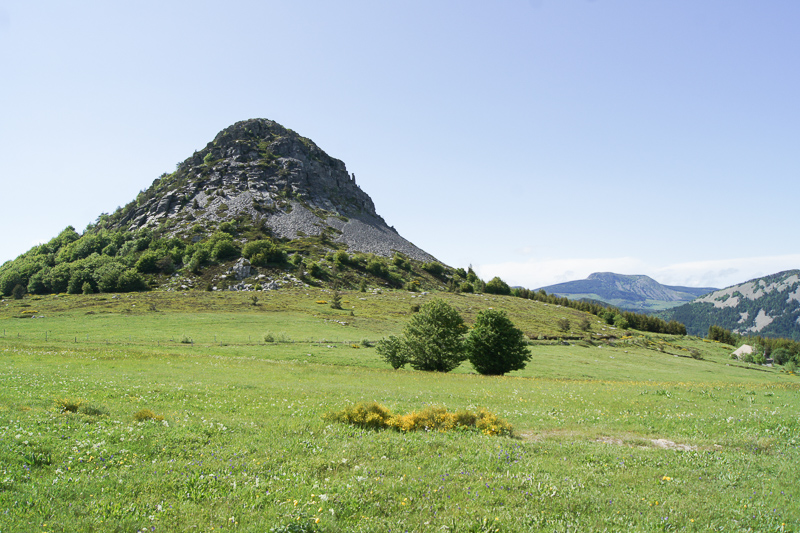 randonnée facile montagne ardéchoise