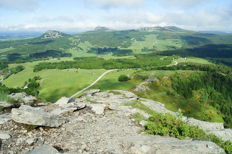 randonnée montagne ardéchoise