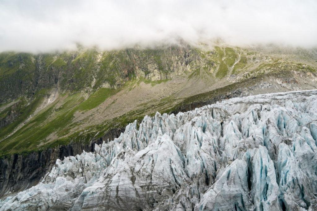 randonnée glacier d'argentière