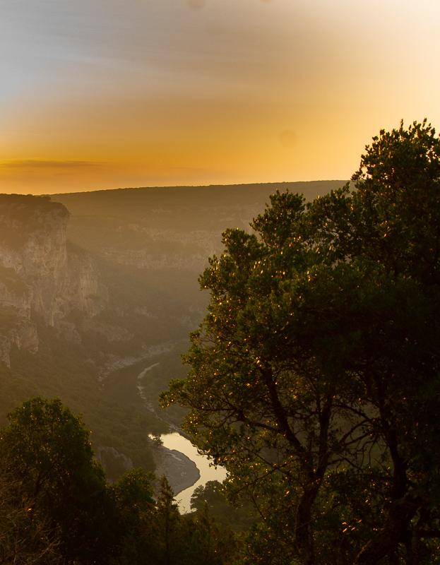 lever de soleil sentier de gaud