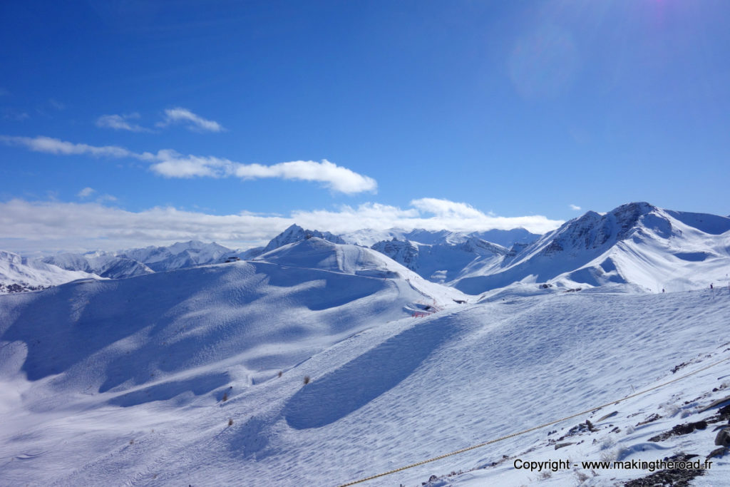 skier à vars risoul