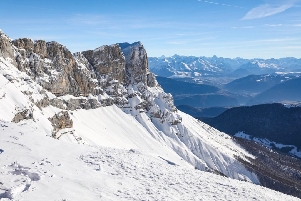 villard correncon quatre montagnes vercors ski hiver